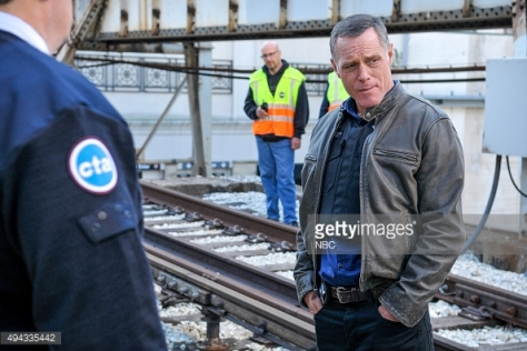 """CHICAGO P.D. -- """"A Dead Kid, A Notebook, and a Lot of Maybes"""" Episode 307 -- Pictured: Jason Beghe as Hank Voight -- (Photo by: NBC/NBCU Photo Bank/NBCU Photo Bank)"""