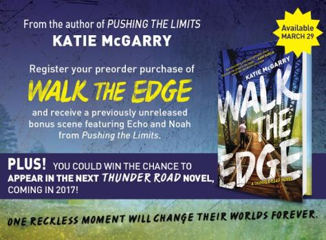 Walk the Edge - preorder graphic