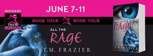 all the rage book tour