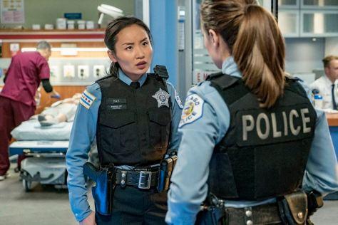 "CHICAGO P.D. -- ""The Silos"" Episode 401 -- Pictured: Li Jun Li as Julie Tay -- (Photo by: Matt Dinerstein/NBC)"