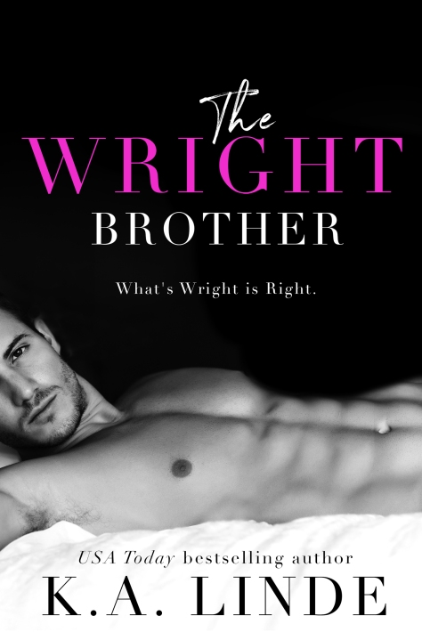 'The Wright Brother' by KA Linde is available now